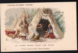 (Russie Boréale ) Collection Du Sirop ROCHE 13 Tente Samoyède  (PPP12589N) - Old Paper