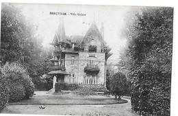 DEAUVILLE  VILLA GALAOR GROS PLAN       DEPT 14 - Deauville
