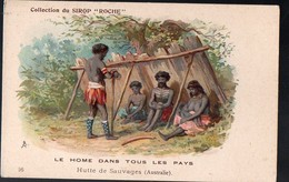 (Australie ) Collection Du Sirop ROCHE 16 : Hutte De Sauvages  (PPP12589R) - Old Paper