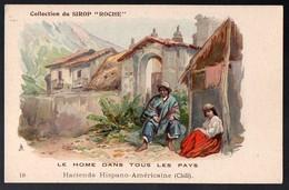 (Chili ) Collection Du Sirop ROCHE 19 : Hacienda Hispano Américaine  (PPP12589U) - Old Paper
