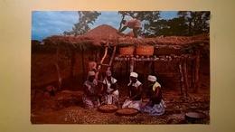 CARTOLINA POSTCARD VIAGGIATA 1967 MALAWI - PERUGIA AFFRANCATURA MOTIVI LOCALI 1964 - Malawi