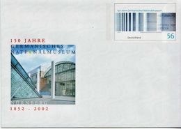 Germany Mint Postal Stationery Cover - Museums