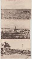 Gabon  Libreville 1930 Lot De 9 Cartes Postales Arrivée Croiseur Lamothe Piquet Autres Dont TB Animée éditeur L.Handmann - Gabon