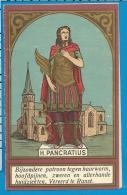 Holycard    St. Pancratius    Ranst   Litanie - Devotion Images