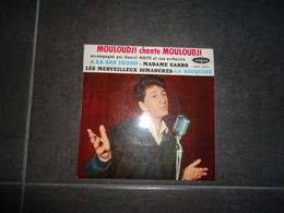 45T MOULOUDJI A LA SAN ISIDRO MADAME GARBO LES MERVEILLEUX DIMANCHES LA ROUQUINE ( VOGUE N° EPL 8021 M - Vinyles