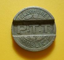 Token * France * Telephones Publics * PTT * 1937 - Unclassified