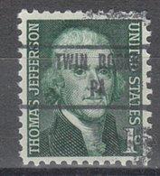 USA Precancel Vorausentwertung Preo, Locals Pennsylvania, Twin Rocks 853 - Vereinigte Staaten
