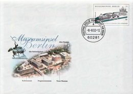 Germany Cancelled Postal Stationery Cover - Museums