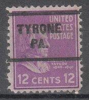 USA Precancel Vorausentwertung Preo, Locals Pennsylvania, Tyrone 255 - Vereinigte Staaten