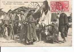 SOUDAN   TOMBOUCTOU  Le Marché ,une Boucherie - Soudan