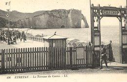 76 ETRETAT - La Terrasse Du Casino - LL N° 126 - Etretat