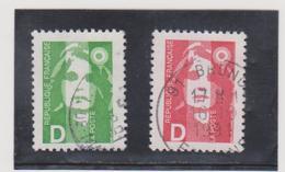 FRANCE   1991 Y.T. N° 2711  2712  Oblitéré - 1989-96 Marianne Du Bicentenaire