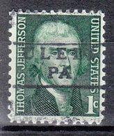 USA Precancel Vorausentwertung Preo, Locals Pennsylvania, Uledi 871 - Vereinigte Staaten