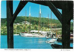 CP ANTIGUA - Nelson's Dockyard At English Harbour - H. W. Hannau AHA-103-H - Antigua & Barbuda