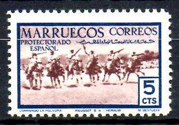 MAROC ESPAGNOL. N°421 De 1952. Chevaux. - Caballos