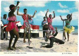 CP ANTIGUA - Limbo And Steelband - H. W. Hannau AHA-103-H - Antigua & Barbuda