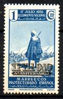 MAROC ESPAGNOL. N°318A De 1940. Surchargé. - Spanisch-Marokko
