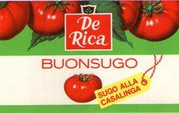 B 1835 - Etichetta, De Rica - Frutta E Verdura