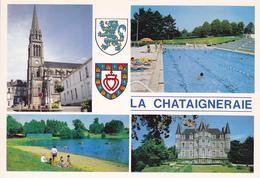 85  LA CHATAIGNERAIE / MULTIVUES / BLASON - La Chataigneraie