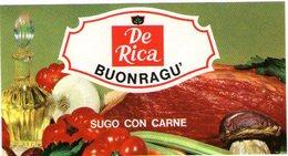 B 1836 - Etichetta, De Rica - Frutta E Verdura