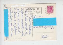 ITALIA  1968 - Annullo Meccanico - Fiera Di Genova - Africa '68 - Fabbriche E Imprese