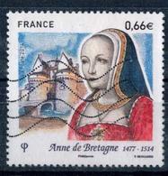 2014 N 4834 ANNE DE BRETAGNE OBLITERE  #227# - France