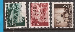 1942  78-80   Overprint     LANDSCHAFT     NDH HRVATSKA KROATIEN  MNH - Croatie