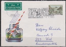 Österreich  1982 Nr.U73 Gelaufen SoSt. CHRISTKINDL1983 ( D 3010 ) Günstige Versandkosten - Ganzsachen