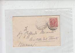 ITALIA  1920 - Letterina Da  Camera Deputati ( Con Timbro Idem) A Civitella Del Tronto - 1900-44 Vittorio Emanuele III