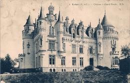 Cpa 49 Chateau-Hotel à Grand-Fond - Francia