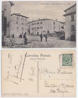 Cutigliano - Piazza Catilina, Inviata A Fatima Miris, Viaggiata 1910 - Autres Villes