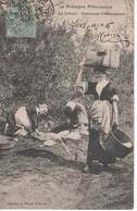 56 -156  -   HENNEBONT   -   Le Lavoir , Les Costumes  - 1905 - Hennebont