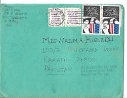 1989 U.S.Airmail Cover - Bill Of Rights 200th Anniversary 25c To Pakistan. - Brieven En Documenten