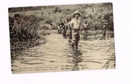 """Entier à 10 Centimes.""""Est Africain Allemand.Occupation Belge"""".Les Marais De La Kagera. - Stamped Stationery"""