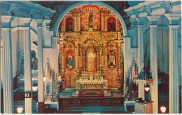 Panama City - Church Of San José: El Altar De Oro / The Golden Altar  - Republic Of Panama - Panama