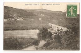 30 Molières Sur Cèze, Pont Et Hameau De Gammal (2827) L300 - Autres Communes