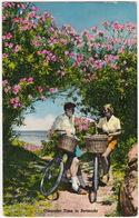 Bermuda: 2 BICYCLES & CYCLISTS - Oleander Time In 1958 - Bermuda
