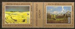Cept 1993  Herceg Bosna I Hercegovina Yvertn° 1 F-G *** MNH  Cote 7 Euro - Bosnie-Herzegovine