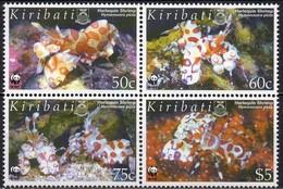 Kiribati 2005 Yvertn° 591-594 *** MNH  Cote 16,50 Euro 50 Ans Faune Marine WWF - Kiribati (1979-...)