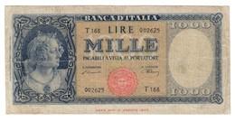 Italy 1000 Lire 10/02/1948 - 1000 Lire