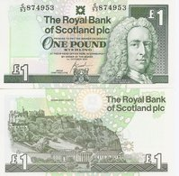 Scotland  P-351c  1 Pounds  2001   UNC - [ 3] Scotland