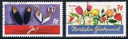 Allemagne Fédérale - Timbres De Voeux : Mariage Et Félicitations 3037 + 3039 (année 2016) Oblit. - [7] République Fédérale