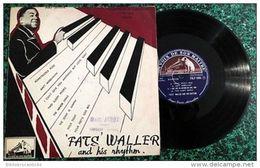"""LP 25cm * """"FATS""""  WALLER And His Rhythm *<  LA VOIX DE SON MAITRE FDLP 1005 - Jazz"""