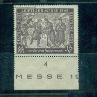 SBZ, Sowjetisch Besetzte Zone. Leipziger Messe 1948, Nr. 198 PF IX Gestempelt - Soviet Zone