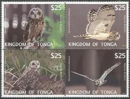 Tonga 2012 Yvertn° Timbres Du Bloc 52 *** MNH Cote 125 Euro Faune Oiseaux Vogels Birds - Tonga (1970-...)