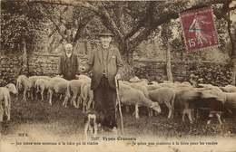 CREUSE  TYPES CREUSOIS  Je Mène Mes Moutons A La Foire - France