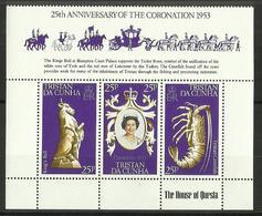 Tristan Da Cunha - 1978 Coronation Anniversary Block MNH **     SG 239-41    Sc 238a - Tristan Da Cunha