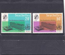 Seychelles  1966  N° 220/221    Siège OMS à Genève - Seychelles (1976-...)