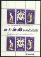 Tristan Da Cunha - 1978 Coronation Anniversary Sheetlet MNH **     SG 239a    Sc 238 - Tristan Da Cunha