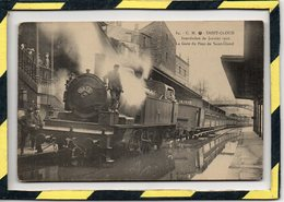 SAINT-CLOUD . - . INONDATION DE JANVIER 1910. LA GARE DU PONT DE SAINT-CLOUD - Saint Cloud